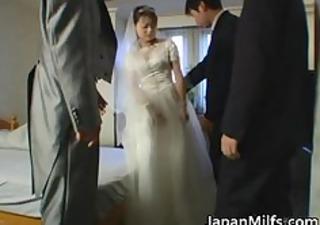 oriental bride gets hardcore group fucking part3