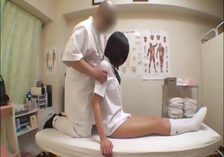 japanese cute girl massage